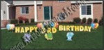 happy birthday zoo animal yard signs phoenix