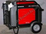 Honda EU6500is generator rental Phoenix