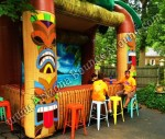 Tiki Bar Rental, Rent Tiki Huts, Luau Furniture, Phoenix, Scottsdale, Tempe Arizona