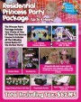 Kids Princess Birthday Party Package deal