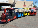 Gas Powered Trackless Train Rental Phoenix, Arizona