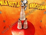 Milk Bottle Knockdown Carnival Game Rental AZ