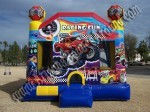 Monster truck race car Bounce House rental Scottsdale AZ
