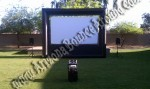 Outdoor Cinema Movie Screen Rentals