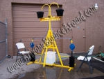 Phoenix, Summer water game rental, Down Pour Derby rental, summer party ideas for kids in Arizona