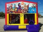 Pirate bounce house moonwalk rental AZ