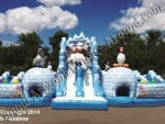Winter themed Inflatable Obstacle Course Rentals in Phoenix Arizona