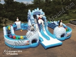 Polar Extreme Obstacle Course Rental - Winter Themed Inflatables in Arizona