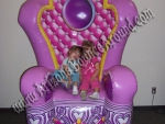 Princess Throne Chair rental Phoenix, Scottsdale AZ