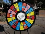 Prize Wheels for rent in Phoenix or Scottsdale, Rent a prize wheel AZ