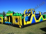 Big inflatable Obstacle course rentals Phoenix AZ