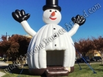 Inflatable Snowman Bounce House Rental Scottsdale Arizona