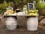Wine barrel table rental Phoenix Arizona