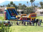 Inflatabel obstacle course for company parties
